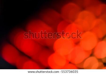 Red bulbs illumination #553736035