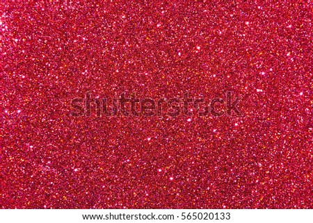 Red / cardinal rich glitter banner background for website, advertising banner or business card. High quality photo for Valentine's Day with space for text.