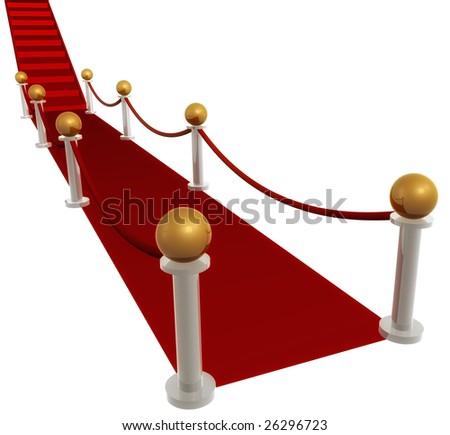 Red carpet line