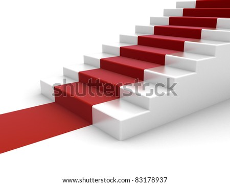 red carpet steps to success