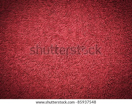 Red carpet texture or background