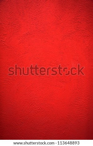 red cement background