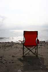 red chair sunset 3