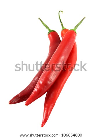 Red Chilies - Isolated