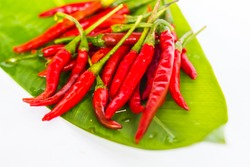 red chilli is very hot in thai food.