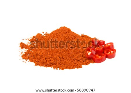 Red chilly pepper - stock photo
