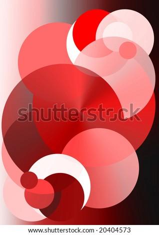 red, circle