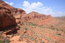 Red Cliffs Recreation Area, National Conservation Lands, Utah, USA