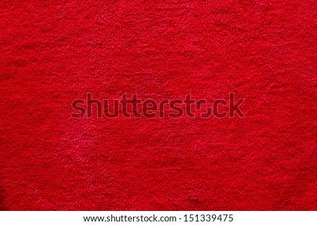 Red Color Carpet Texture