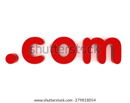 red com fridge magnet letters