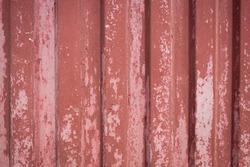 red container's wall