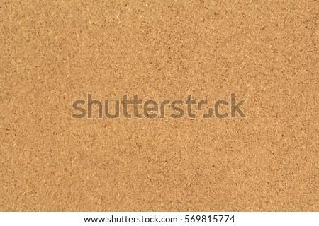 Red cork board