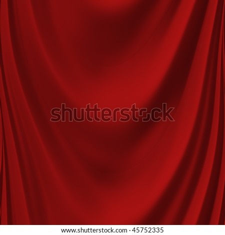 Red curtain seamless