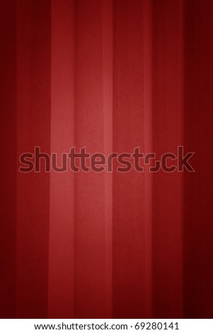 red curtain with structure