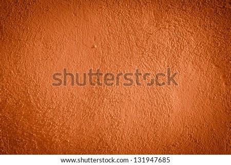 red darken wall texture grunge background - stock photo