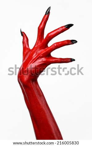 free photos red devil s hands red hands of satan halloween theme