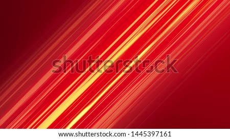 Red Diagonal Anime Speed Lines. Abstract anime background.