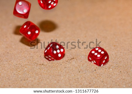 Red dices photo #1311677726