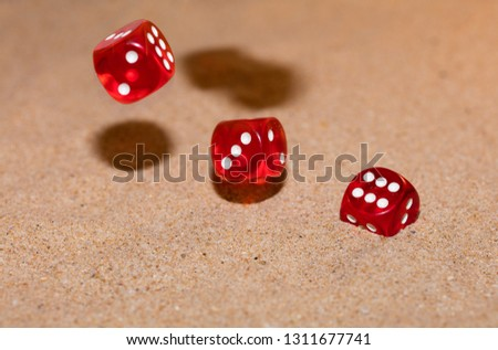 Red dices photo #1311677741