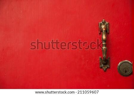 red door #211059607