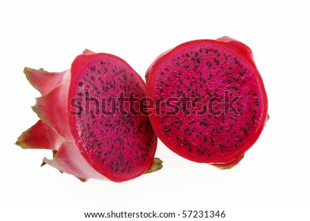red dragonfruit with high nutrient good for health