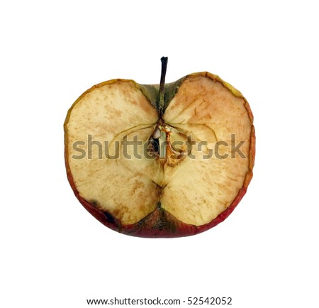 red dried apple. dry apple.