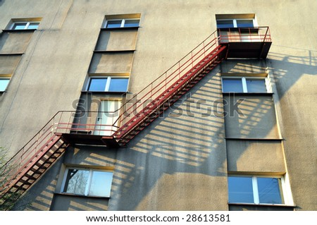 Emergency Stairs Design