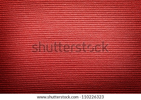 Red fabric cloth vintage canvas background texture