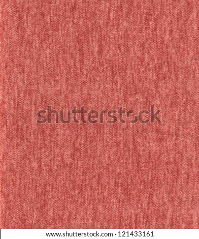 Red fabric texture. (High.res.)