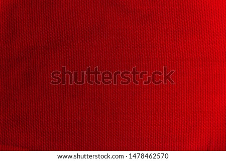 red fabric texture with folds #1478462570