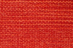 Red fabric texture with orange lines background