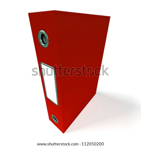 Red File For Getting Office Better Organized