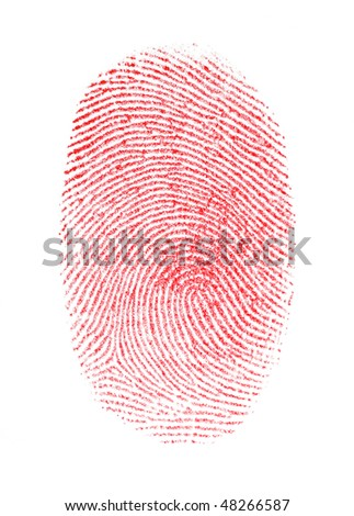 Red Fingerprint