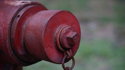 red fire hydrant, component of fire protection, fire hydrant