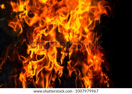 Red flame background #1007979967