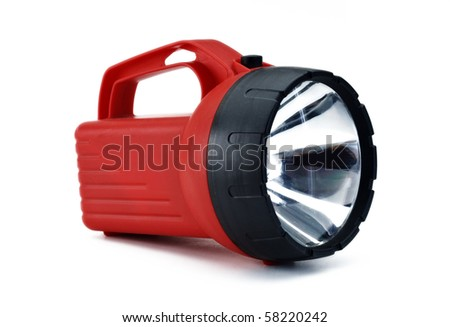 Red Flash Light
