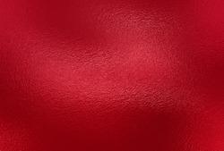 Red foil paper decorative texture background. Close up