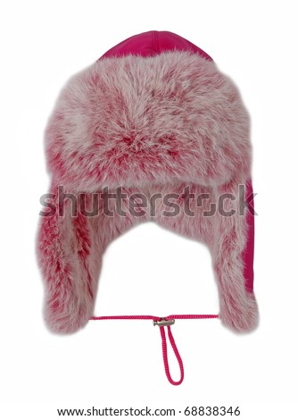 red fur cap