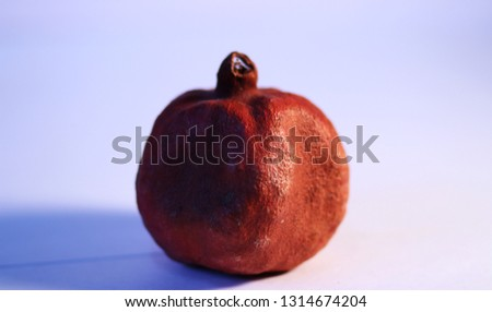 Red garnet fruit #1314674204