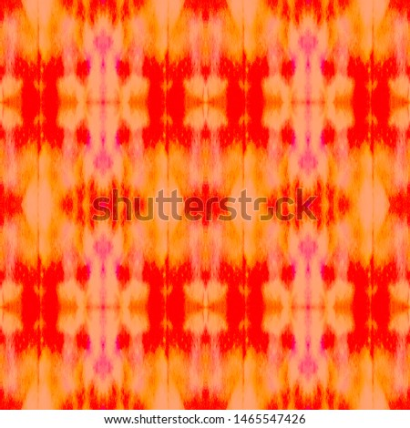 Red Geometric Shibori. Turkish Mosaic. Watercolor Layer. Red Seamless Bohemian. Bohemian Fashion. Colorful Tie Dye Print. Watercolor Flooring. Turkish Mosaic. Ink Texture kilim.