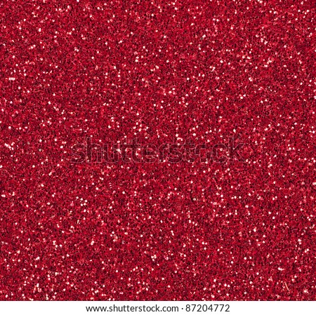 Red glitter abstract festive or Christmas background