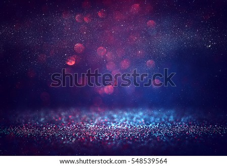 Red glitter vintage lights background. - Shutterstock ID 548539564