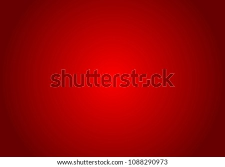 Red Gradient abstract background. Red template background. Red empty room studio gradient used for background #1088290973