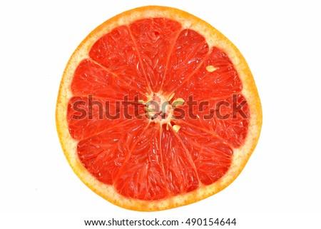 Red Grapefruit #490154644