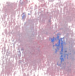 Red gray, white and blue color abstract art background. Acrylic paste on watercolor paper.