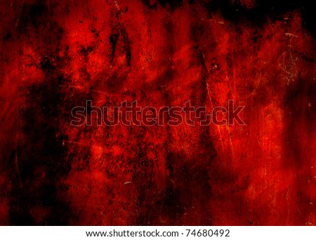 red grunge abstract background texture - stock photo