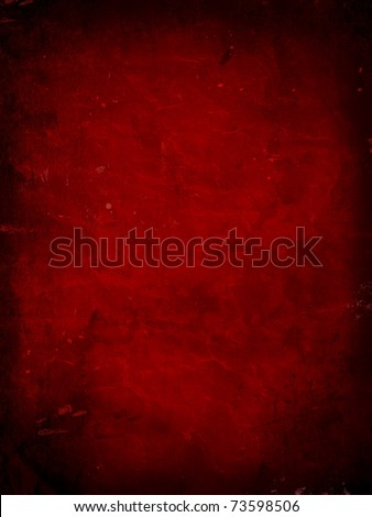 Red grunge background - ideal for use for Valentines Day