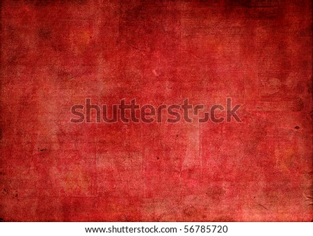 red grunge textured background