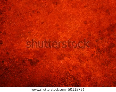 red grunge wall surface