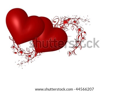 Images Of Flowers And Hearts. clip art flowers and hearts.